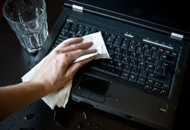 How to Deal with Spills and Stains on Electronic Products