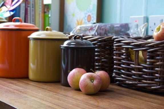 Baskets - kitchen storage solutions