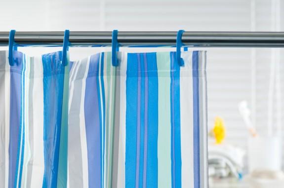 limpieza de cortinas de baño