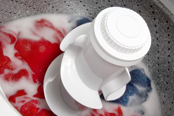 Producto de limpieza para lavanderia