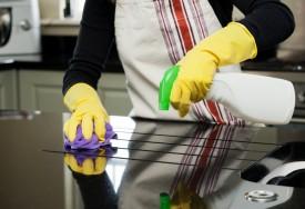 Como usar desinfetantes na cozinha e no banheiro