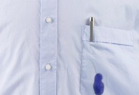 How to remove ink stains from clothes cleanipedia for Remove pen stain from shirt