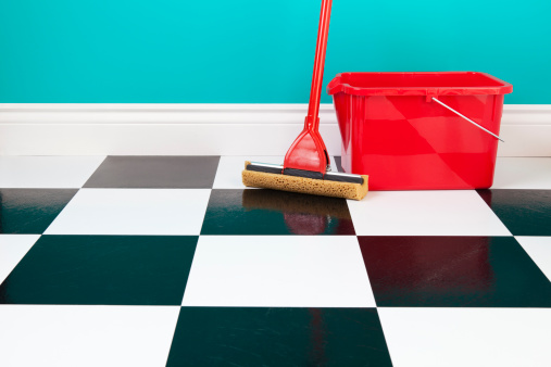 Best way to deep clean tile floors