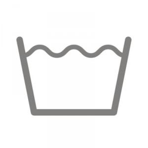 Wash symbol - care labels