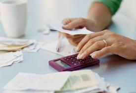 Göra en hushållsbudget