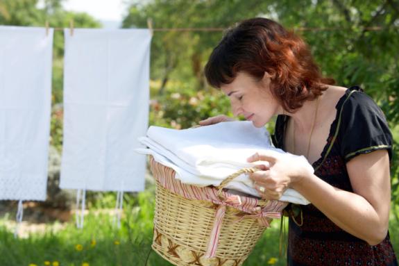 washing machine smelling musty