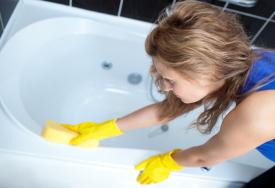 Limpiar Baños | Como Limpiar El Bano Trucos De Limpieza De Cocina Cleanipedia