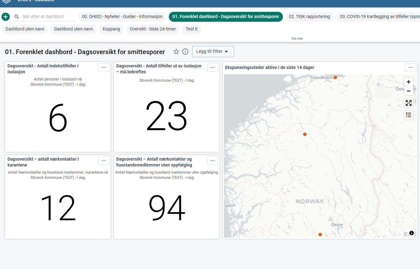 Norway Covid Tracker Map
