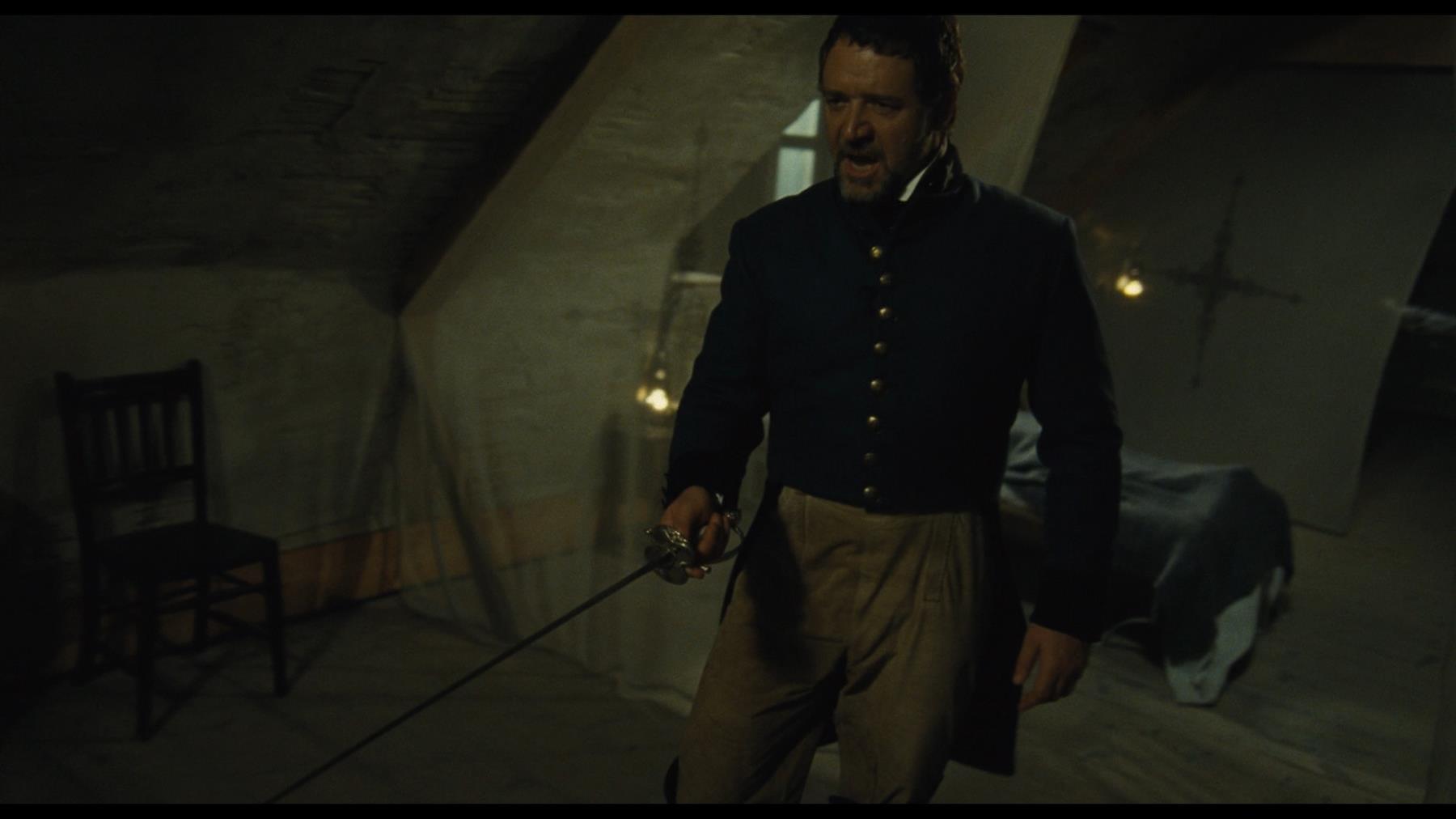 LES MISERABLES (2012) - Javert's (Russell Crowe) Hero ...