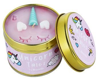 Bomb cosmetics nederland unicorn tales tinned candle www sajovi nl