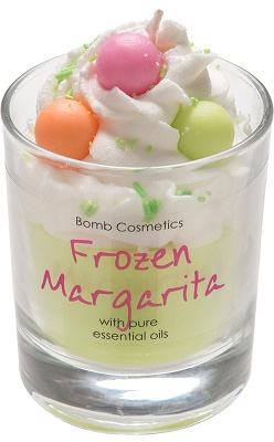 Bomb cosmetics frozen margarita piped candle www sajovi nl