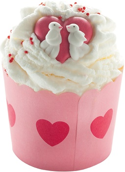 Love jar of hearts cacao swirl bomb cosmetics www sajovi nl