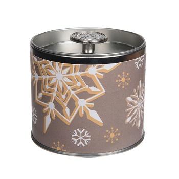 Greenleaf holiday signature candle tin wintertime wishes www sajovi nl
