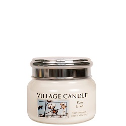 Purelinen mini candle villagecandle www sajovi nl