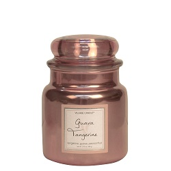 Villagecandle medium metallic candle www sajovi nl
