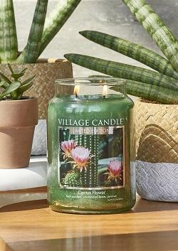 Village candle nederland cactus flower 2 www sajovi nl