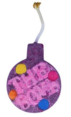 Fizzy rascal watercolours bath blaster bomb cosmetics www sajovi nl