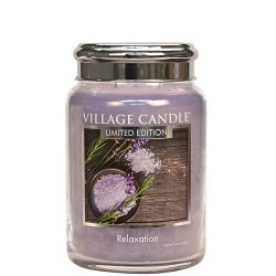 Village candle spa collection relaxation 26 oz spa metal lid www sajovi nl