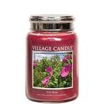 Wildrose 474gram glass candle villagecandle www sajovi nl