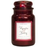 Rosette berry 26 oz metallic candle villagecandle www sajovi nl