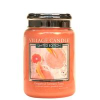 Village candle grapefruit turmeric tonic large jar www sajovi nl