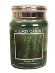 Balsam fir village candle candle geurkaars www sajovi nl