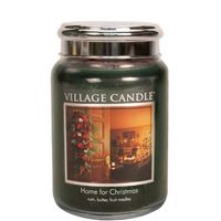 Village candle home for christmas large jar www sajovi nl
