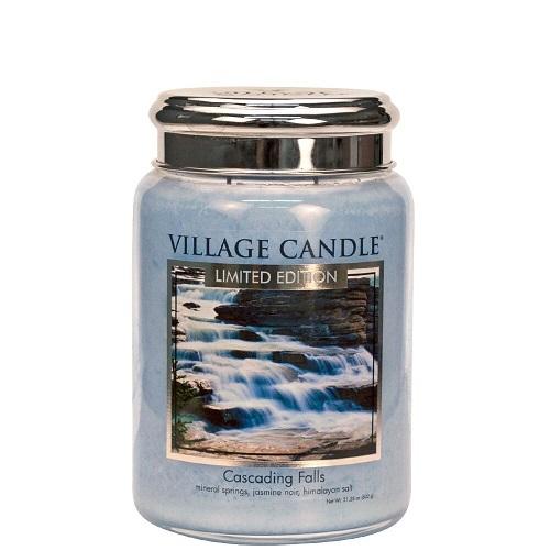Village candle nederland cascading falls large jar www sajovi nl