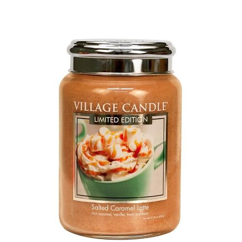 Village candle nederland salted caramel latte large jar www sajovi nl