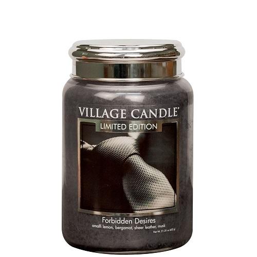 Village candle nederland forbidden desires large jar www sajovi nl