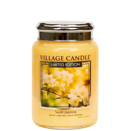 Village candle nederland sunlit jasmine large jar www sajovi nl