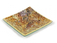 Ab176 mosaic plate golden small horizon
