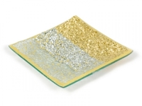 Ab182 mosaic plate small gold riches