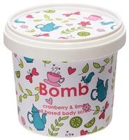 Cranberry lime body scrub bomb cosmetics www sajovi nl