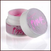 B586 pink glitter pot