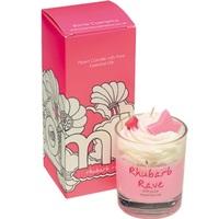 Rhubarb rave piped candle bomb cosmetics www sajovi nl