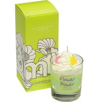Flower power piped candle bomb cosmetics www sajovi nl