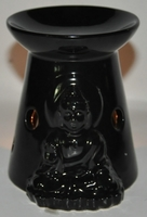 Sjo001b oil burner buddha black