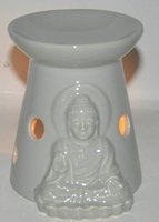 Sjo001g oil burner buddha grey
