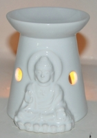 Sjo001w oil burner buddha white