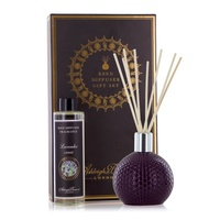 Abcd1 ceramic reed diffuser damson in distress lavender oil ashleigh burwood www sajovi nl