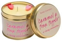 Caramel pink pepper candle tin bomb cosmetics www sajovi nl