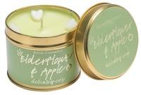 Elderflower and apple tinnned candle bomb cosmetics www sajovi nl