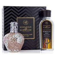 Ashleigh burwood giftset apricot shimmer fragrance lamp moroccan spice oil www sajovi nl