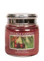 Village candle black cherry medium jar www sajovi nl
