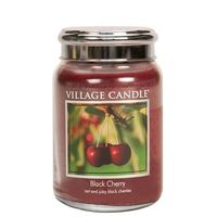 Village candle black cherry large jar www sajovi nl