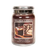Village candle brownie delight large jar www sajovi nl