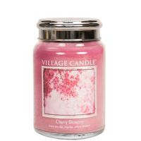 Village candle cherry blossom large jar www sajovi nl