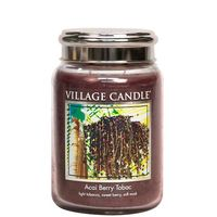Village candle acaiberry tobac large jar www sajovi nl