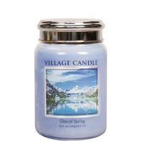 Village candle glacial spring large jar www sajovi nl